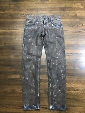 Authentic Dolce & Gabbana Mens Painting Jeans Pants Size 48 Rare Free Shipping!