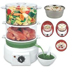Multi Steam Cooker With Non Stop Soup Cum Sprout Maker Turbo Steam Generator