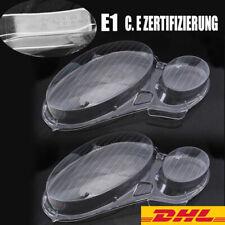 2× Scheinwerferglas Scheinwerfer Linse Rechts Links für MERCEDES-BENZ W211 DE