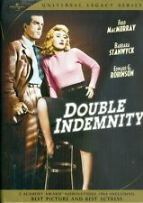 Universal dvd Legacy Series Double Indemnity Stanwyck like new