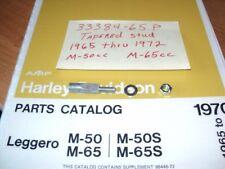 1972 HARLEY  AERMACCHI M-65CC  SHORTSTER  TAPERED STUD  33384-65P  AMF
