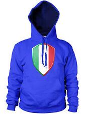 Italian Flag Badge Rugby 6 Nations Hoodie Italy Hoody Sport Man Woman Kid JA117