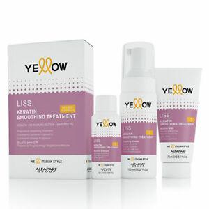 Yellow Liss Keratin Smoothing Treatment Kit Trattamento Lisciante alla cheratina
