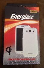 NEW Energizer White Inductive Charging Case for Samsung Galaxy S3
