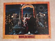 Moulin Rouge lobby card print, movie poster print - Nicole Kidman, Ewan McGregor