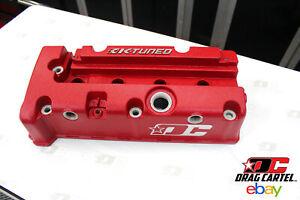 K-TUNED / DC VALVE COVER - COLLABORATION - RED, Honda K20 K24 K-series