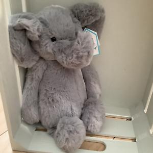 JELLYCAT PLUSH TOY BASHFUL ELEPHANT MEDIUM - 31cm