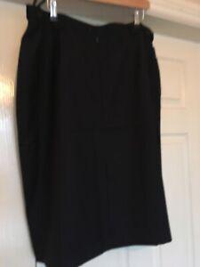 Alexandra PU5T Ladies work suit skirt size UK 22