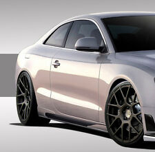 08-15 Audi A5 S5 Eros Version 1 Side Skirt Rocker Panels 2pc 109346