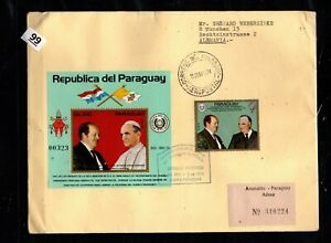 // PARAGUAY 1974 - R-FDC - POPE