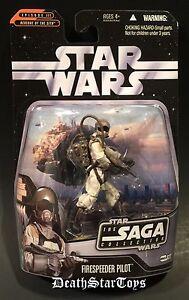 Star Wars TSC 22 Saga Collection Firespeeder Pilot Revenge Of The Sith Coruscant