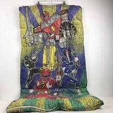 Vintage 1994 Mighty Morphin Power Rangers Child's Twin Sleeping Bag
