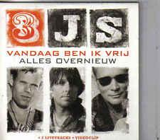 3JS-Vandaag Ben Ik Vrij cd single incl video