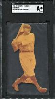 BABE RUTH 1926 Exhibits Postcard-Batting Follow Through-SGC A AUTHENTIC🔥RARE🔥