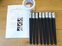 Lamkin Arthritic Golf Grips x 8 with instructions and tape