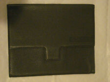 SUPER NICE NEW COACH APPLE IPAD COVER CASE IN GRANITE LEATHER - F77231