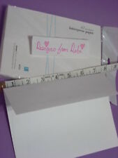 Lifestyle Crafts Letterpress Paper Product A7 Envelopes Cream, 5.25 x 7.25, 25ct