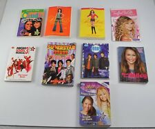 Lot of 9 Young Adult Paperback Books Teen Celebrities Hannah Montana  DD6P14