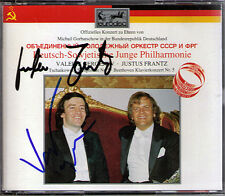 GERGIEV Justus FRANTZ Signed BEETHOVEN TCHAIKOVSKY 2CD Piano Concerto Symphony 5