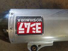 Yoshimura RS-4 Signature Series Slip-on, Aluminum Muffler Stainless exhaust