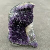 Amethyst Druze Crystal Cluster With Cut Base ~ Exact Specimen (ACB_13)