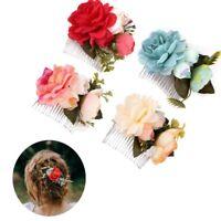 Wedding Accessories Bridal Flower Hair Clip Floral Hairpin Hair Jewelry