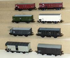 8x Piko alte Güterwagen: Wagen der CFL, SNCF, B, NS, MAV, DSB, SBB-CFF.. H0