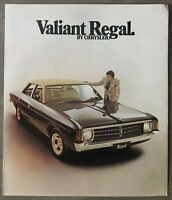 c1975 Chrysler Valiant Regal original Australian sales brochure
