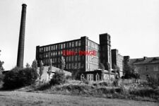 PHOTO  1984 NEWHEY ROCHDALE ELLENROAD RING MILL BUILT AS A MULE SPINNING MILL WI