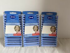 Goody Professional Perm Rods Rollers Sealed Packages - 3 Medium blue New 42 rods
