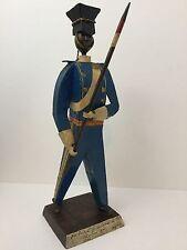 Felguerez Metal Art Soldier Great Britain De Com Septimo Lanceros 1895 Signed
