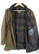 Women's Barbour Wax Newmarket Brown Jacket UK 12 Original : J996