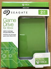 Seagate 2 TB Game Drive for Xbox USB 3.0 Portable 2.5 Inch External Hard Drive