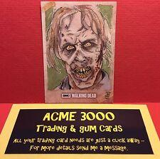 Topps The Walking Dead Season 6 - ANDREW LOPEZ Sketch Art Card - Walker