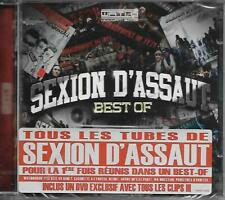 DOUBLE CD 17T + DVD  SEXION D'ASSAUT  BEST OF DE 2013 NEUF SCELLE