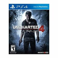 Uncharted 4: A Thief's End PlayStation 4 PS4 Very Good 6Z