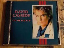 DAVID CASSIDY ROMANCE CD NEW W/BONUS TRACK PROMO PARTRIDGE