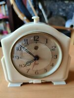 Vintage Smiths SECTRIC Bakelite Cased Mantel Clock - Working
