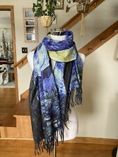 """""""The Starry Night"""" Pashmina And Glove Set. NWT!!!"""