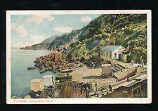 Devon TORQUAY Anstey's Cove Beach Bathing machines pre1919 PPC