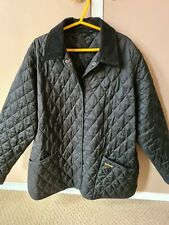 Barbour Black Quilted Jacket Coat