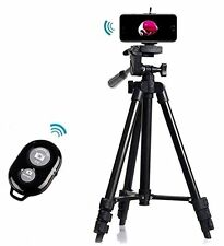 Professional Tripod Mount Holder+ Camera Bluetooth Remote Shutter for iPhone