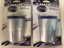 2-swivel Top Car/Truck Ash Tray Cup Holder Ashtray Open/close