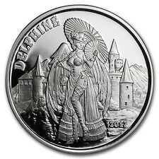 1 oz Silver Proof Round - Angels & Demons Series (Delphine) - SKU#153115