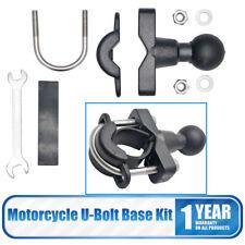 "For RAM U-Bolt Motorcycle Handlebar Mount Base 1"" Ball for garmin Zumo 500 UK"
