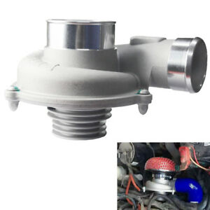Car Electric Turbo Supercharger Kit  Air Filter Intake Improve Speed Fuel Saver