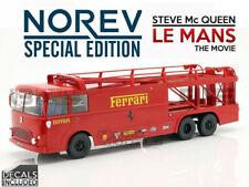 NOREV 1/18 - FIAT BARTOLETTI 306/2 - FERRARI FROM LE MANS MOVIE - 187703