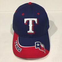 TEXAS RANGERS MLB Fan Favorite Blue/Red Baseball Hat Cap OSFA Brand New!!!