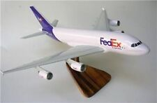 A-380 FedEx Airbus 380 Freight Airplane Mahogany Kiln Dry Wood Model Large New