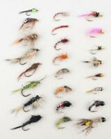 X24 Allround River & Stillwater Nymph Selection & FREE BOX, Fab Trout Fly Gift!